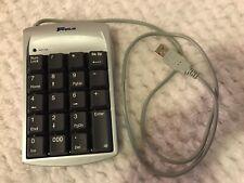 Targus Numeric Keypad PAUK10Y01U with USB Hub Port Keyboard Number Pad