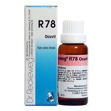 Dr. Reckeweg R78 cuidado de los ojos-gotas para beber 50 Ml los remedios homeopáticos