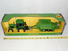 John Deere 3350 With 100 Large Square Baler By Ertl 1/32nd Scale