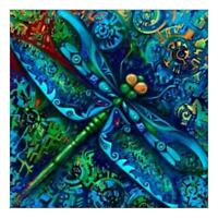 5D DIY Full Drill Diamond Painting Dragonfly Cross Stitch Embroidery Mosaic #ORP