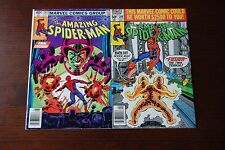 Amazing Spider-Man 207 & 208 lot of 2 Bronze Age comics