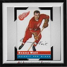 1954 Topps BENNY WOIT #9 NM *tough hockey card for set* DD17