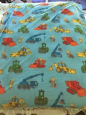 NICKELODEON Child Throw BLANKET BOB THE BUILDER Roley Scoop Lofty Muck Nick Jr