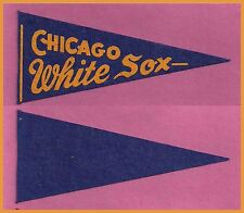 VINTAGE Chicago White Sox Baseball Pennant! 1950's WOW!!
