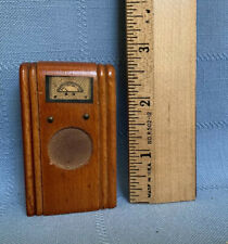 Vintage 1930s-40s Kage Dollhouse Radio Furniture Wooden Console Great Condition