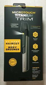 MICROTOUCH Titanium Trim Haircut And Body Groomer Trimmer Professional Haircuts