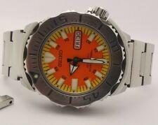 Seiko orange Monster Diver 1st Generation SKX781 Men's Watch