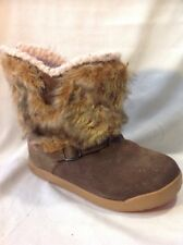 HI-TEC Brown Ankle Leather Boots Size 4