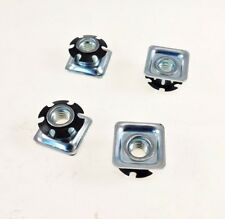 "4 Pack Threaded Star Type 1""(OD) Square Tubing Insert 3/8-16 Threads  S71-326"