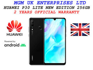 HUAWEI P30 Lite New Edition - 256 GB Android Mobile Smart Phone Black
