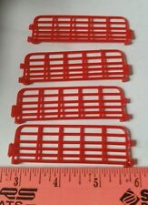 1/64 ERTL FARM COUNTRY TOY QTY OF 4 RED GATES FENCE HORSE HOG COW CATTLE DISPLAY