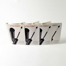 Shiseido Perfect Mascara Full Definition BK901 Black - Set Of 4 x 0.07 Oz. / 2mL
