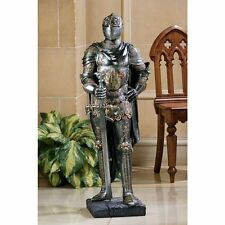 MIddle Ages Medieval Knight Knighthood Armor Armour Helmet Sword Weapon Statue
