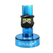 SKULLY Ninite Ninja With a Scar LED Front Light , 2 x White LED's , Black