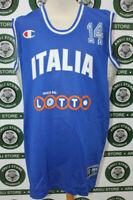 maglia basket canotta ITALIA TG XXXL shirt maillot camiseta trikot