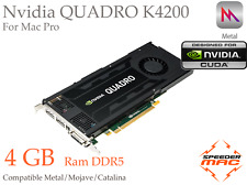  Nvidia Quadro K4200 4GB DDR5 for Apple Mac Pro, CUDA, Metal 4k Mojave Catalina