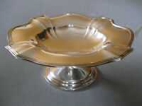 VINTAGE GORHAM PLYMOUTH STERLING SILVER COMPOTE 344 Gr .or 12 oz  MADE IN 1912