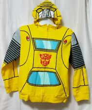 Transformers Inspired Mens Hoodie Megatron Ripped Design