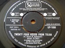 """Gene Pitney-veinticuatro horas de Tulsa 7"""" Vinilo"""