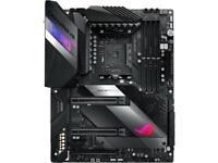 ASUS ROG CROSSHAIR VIII HERO AMD Socket X570 AM4 ATX M.2 Desktop Motherboard A