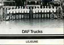 Team DAF LEJEUNE TRUCKS 1980s Cycling ciclismo cyclisme wielrennen radsport vélo