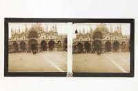 Venice Venezia Italia Placca Da Lente Positivo Stereo