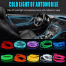 5M Car Interior Accessories DIY Atmosphere LED Lamp EL Cold Light Line With USB