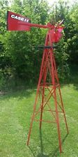 Case IHC Official Logo'd 8 ft Decorative Steel Windmill SDDS 99907