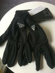 Adidas Running Gloves Climawarm Black - EE2306 Touchscreen Compatible XL