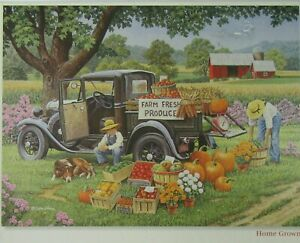Bits and Pieces John Sloane Home Grown Jigsaw Puzzle 2000 Pieces