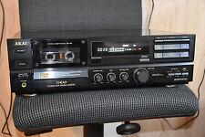 AKAI GX-65 tapedeck, kassettedeck NEUEN RIEMEN, ROLLEN