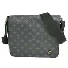 Louis Vuitton District PM Monogram Eclipse Messenger Crossbody Shoulder Bag