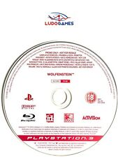 Wolfenstein PAL/EUR PS3 Promo Retro Playstation Videojuego Videogame Mint State
