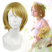 Lovelive Love Live Koizumi Hanayo Cosplay Wig Linen Brwon Short Straight Hair