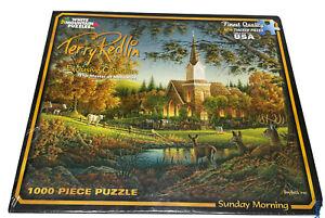 New Sealed White Mountain 1000 Piece Jigsaw Puzzle Terry Redlin Sunday Morning