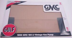 Greenlight 1950 GMC 150 Gulf Pick Up Truck 1/18 Box Replacement