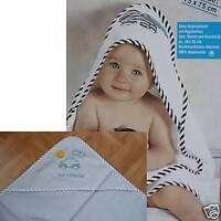 Poncho Kapuzen Handtuch Baby Kinder Babyponcho Babyhandtuch Kapuzenhandtuch blau