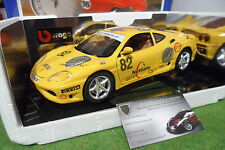 FERRARI f360 CHALLENGE 2000 Holland champ 1/18 LA MINI MINIERA base BURAGO 360HO