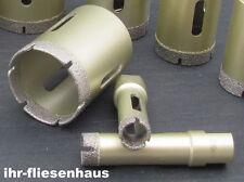 13er Set Diamantbohrkrone M14 Trocken Bohrkrone Diamantbohrer für Feinsteinzeug