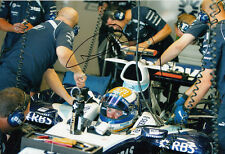 Nico Rosberg mano firmado AT&T Williams F1 Foto 12x8 1.