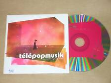 CD PROMO 2 TITRES / TELEPOPMUSIK / LOVE CAN DAMAGE /TBE