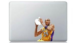 "Kobe Bryant Lakers NBA  MacBook Sticker / Decal CoverAir/pro Retina13"""