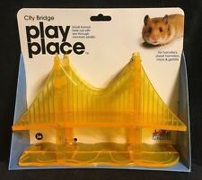 PETVILLE CITY BRIDGE PLAY PLACE FOR SMALL ANIMALS, #82150