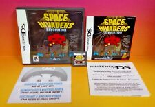 Space Invaders Revolution - Nintendo DS DS Lite 3DS 2DS Rare COMPLETE