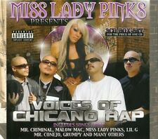 Voices Of Chicano Rap - Miss Lady Pi (2009, CD NIEUW) Explicit Version3 DISC SET