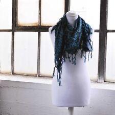 Bufandas y pañuelos de mujer de color principal azul de algodón
