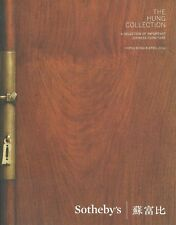 SOTHEBY'S HK CHINESE FURNITURE MING QING Dynasties Hung Collection Catalog 2014