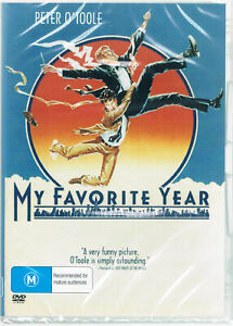 My Favorite Year DVD Peter O'Toole Brand New and Sealed Plays Worldwide NTSC 0