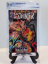 Sub-Mariner (1st Series) #6 PGX 9.0 Second app. Tiger Shark (Like CGC) 1968