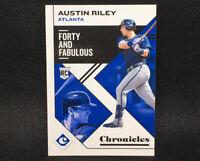 2019 Panini Chronicles Austin Riley RC Atlanta Braves Rookie #32